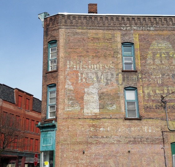 Cropped bldg w ads
